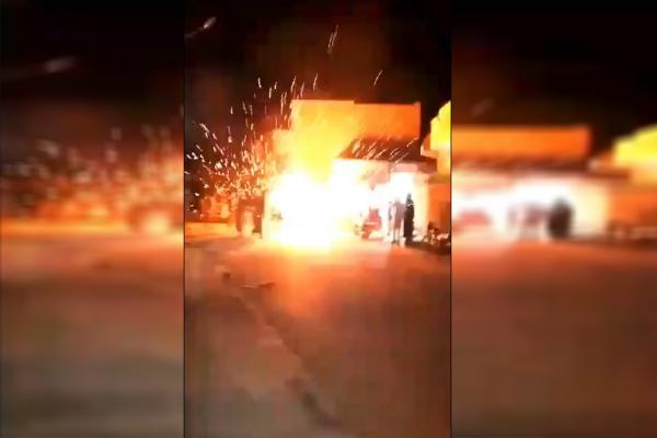 By video ... grenade explosion in wedding in occupied Serêkaniyê