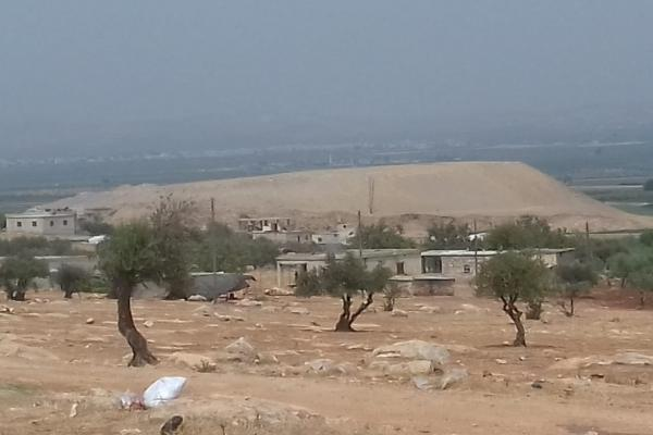 Crimes continue… Turkish occupation vandalizes Celemê hill in Afrin