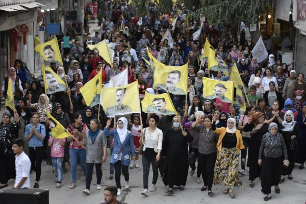 Demonstrations condemn occupation, call for end to isolation on leader Ocalan