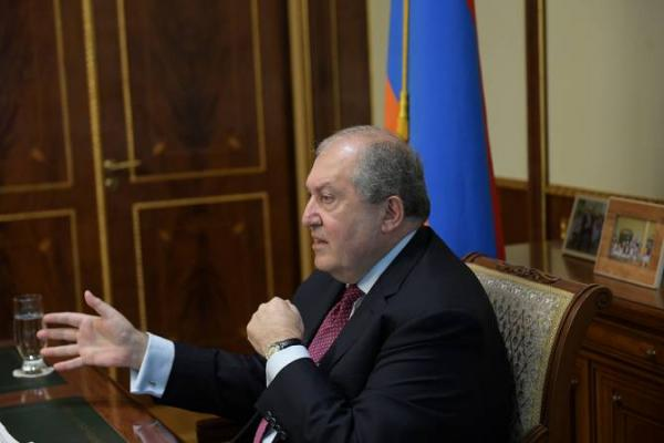 Armenian president warns of Caucasus turning into another Syria