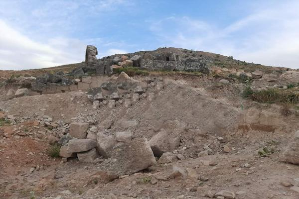 Afrin's HRO: Turkey, its mercenaries destroy archaeological sites in occupied Afrin