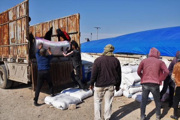 9th  batch of Syrian IDPs leave al-Hol Camp