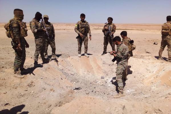 SDF launches combing campaign in Wadi Al-Ajej in Deir Ezzor