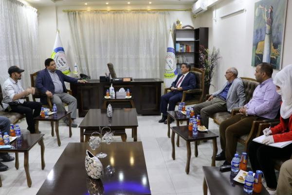 Brownstein discusses with AANES ways of participating in the Syrian political solution