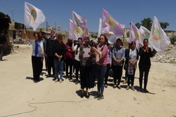 Afrin Yazidis decry demographic change in their villages