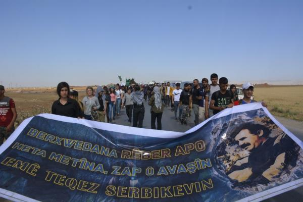 Revolutionary Youths Three-Day March goes on