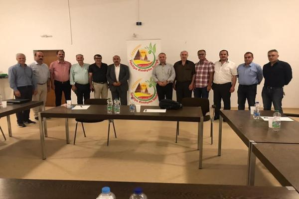 Çia Kurd urges community in Germany to work to obtain international recognition for AA