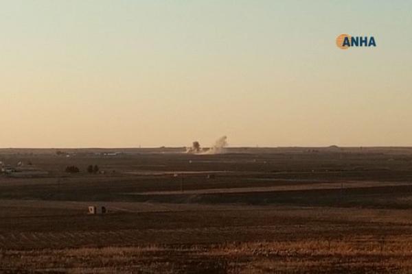 Turkish occupation army shells vicinity of Umm al-Kif village