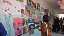 Martyr Beritan Batman School presented handicrafts, drawings for students