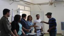 3rd professional course for youths in Qamishlo ended