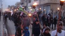 Demo in Girê Spî against Turkish occupation