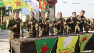 SDF's Martyr Botan Turkman Academy finish 1st course