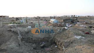 Remnants of IS mercenaries in al-Bagouz camp accompanied with photos, videos