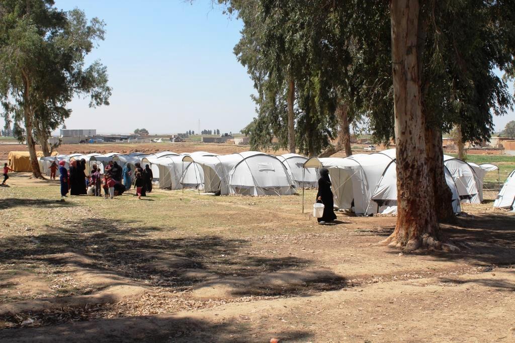 Campamentos de Al-Raqqa aumentan y las organizaciones aún se apegan a la inacción