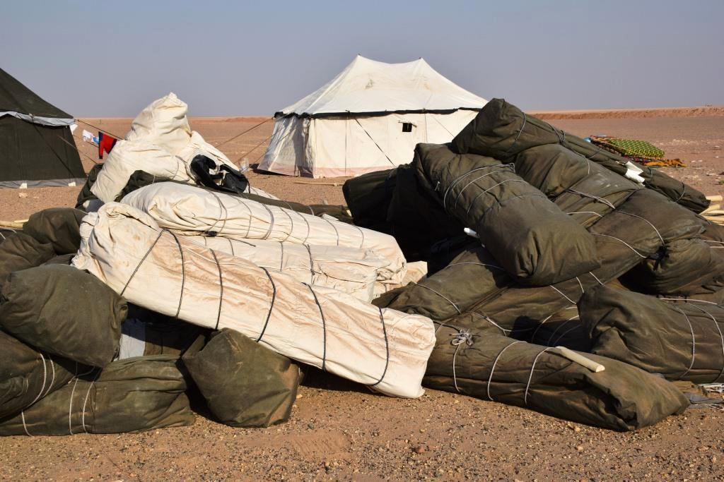 Proveen ayudas a personas de Hajin que huyeron de Daesh