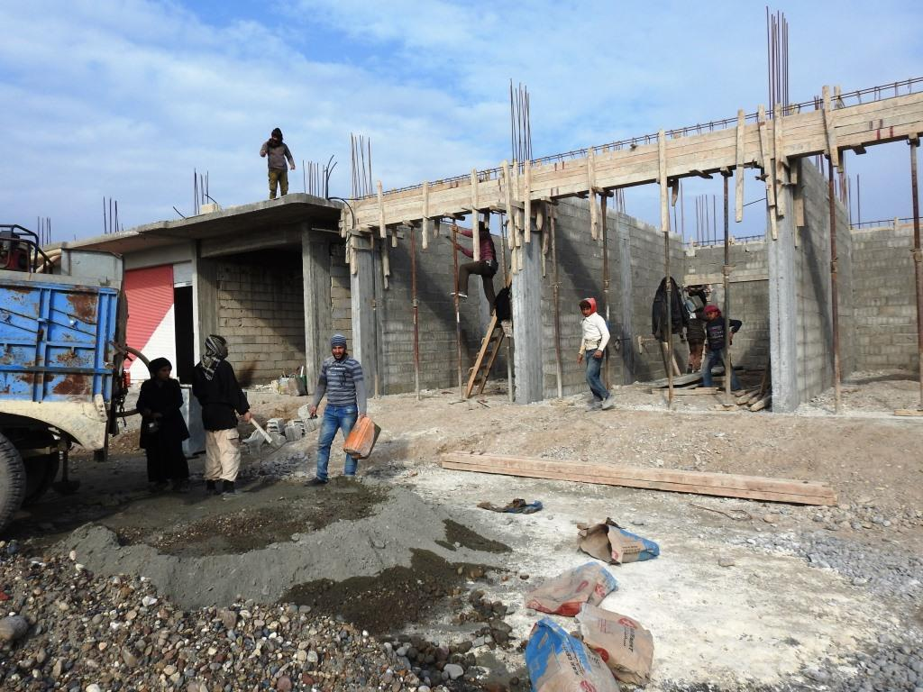 Auge de la construcción en el distrito de Karama