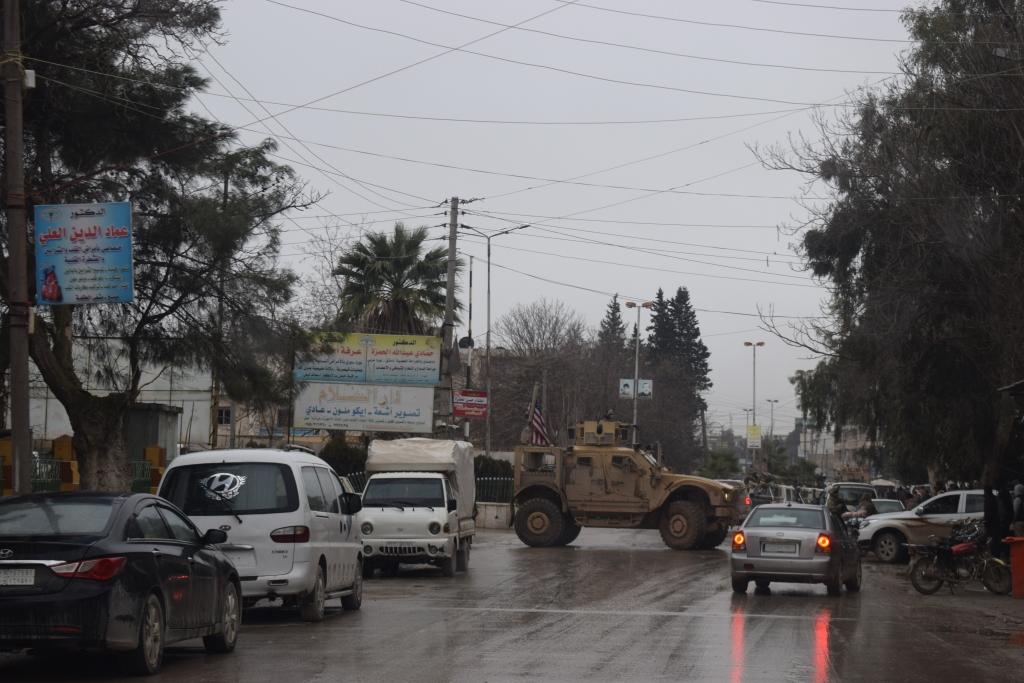 Resultado final de la explosión de Manbij