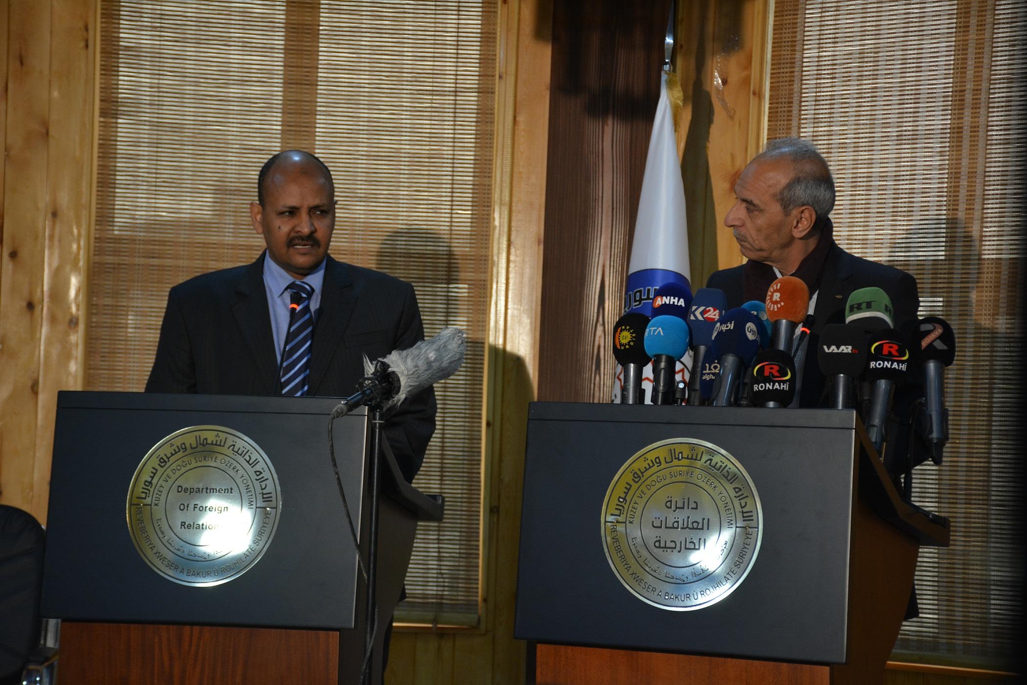 DAA entregó 5 niños sudaneses al gobierno sudanés