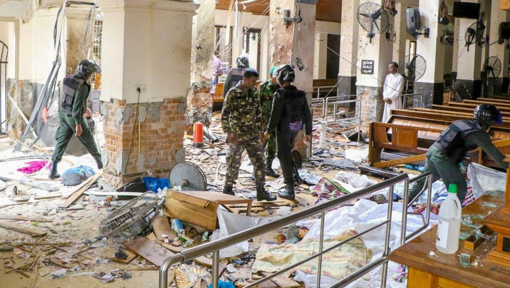 Sir Lanka, el número de muertos aumenta a 310