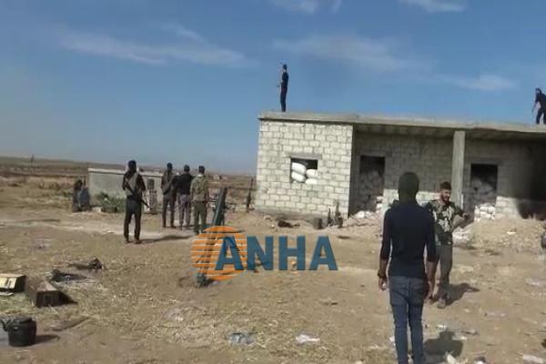 SDF destruyó vehículo de ocupación turca en Ain Issa