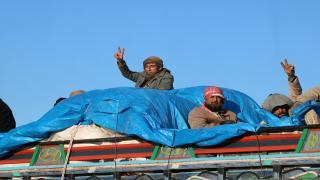 Continua liberación de civiles en Deir-ez-Zor