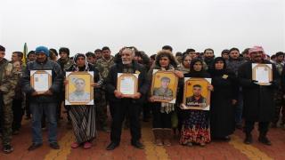 Pueblo de Dêrik se despide de los mártires de la libertad