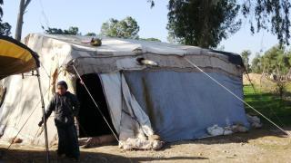 Personas desplazadas en el campamento de Yarub piden ayuda