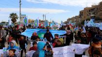 Cientos de jóvenes de al-Tabqa se rebelan contra la ocupación turca