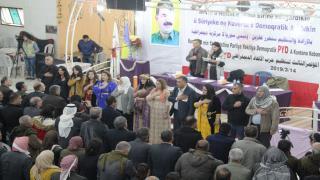 Confianza otorgada a los administradores y varias decisiones tomadas en la conferencia de PYD en Kobani