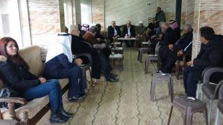 Delegación de KNK visita el Consejo de Tribus y Dignatarios en Dêrik