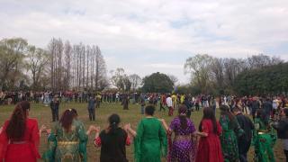 Comunidad kurda en Japón celebra Newroz