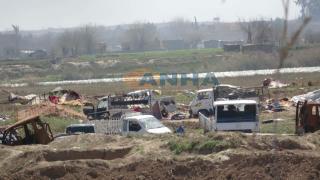 Video monitorea nuevos puntos liberados al norte del campamento de Baguz