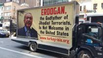 Erdogan li New Yorkê hate şermezarkirin