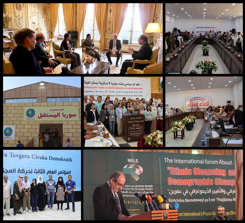 2018`an li Bakurê Sûriyê pêngavên siyasî û dîplomatîk