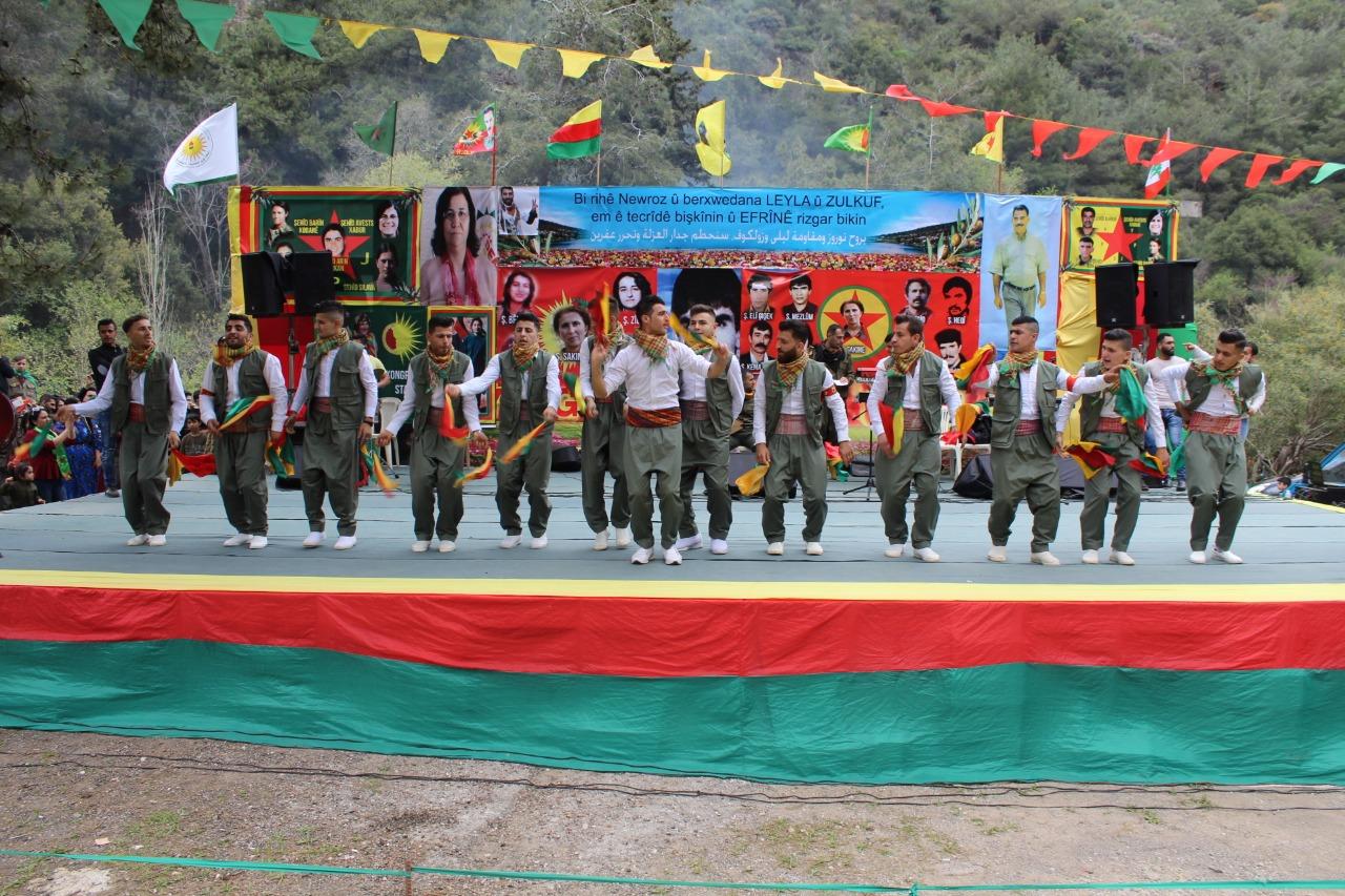 Kurdistaniyên li Lubnanê Newrozê pîroz kirin