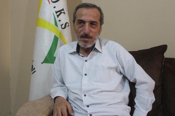 Cemal Şêx Baqî ji ber rola PDK a dorpêçkirina Rojava bi fikar e