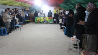 30 Êzidiyên li Kampa Newroz dest bi greva biçîbûnê kirin