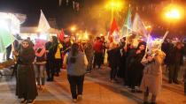 Ciwanên Tebqayê agirê Newrozê dadan