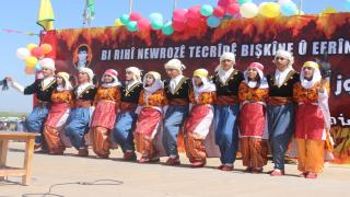 Di pîrozbahiyên Newrozê de, Berxwedana Serdemê û QSD'ê hate silavkirin