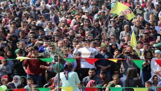 'Tişta ku dewleta Tirk rûxandiye, em ê bi rihê Newrozê ji nû ve ava bikin'