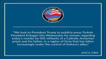 Komîteyeke Ermenî ji Trump re: Bila Erdogan mijara qetilkirina keşe Hosip zelal bike