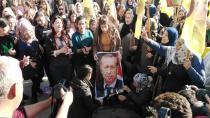 Li Qamişlo şêniyan wêneyên Erdogan şewitandin