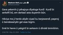 Mezlûm Ebdî: Gava yekemîn ji pêvajoya diyaloga Kurdî- Kurdî bi serkeftî bû