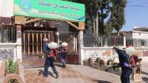 Li Tebqa û gundên wê hemleyên dezenfektekirinê berdewam in