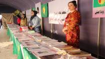 Kongreya Star pêşangeha pirtûkên rêber Abdullah Ocalan li Helebê vekir