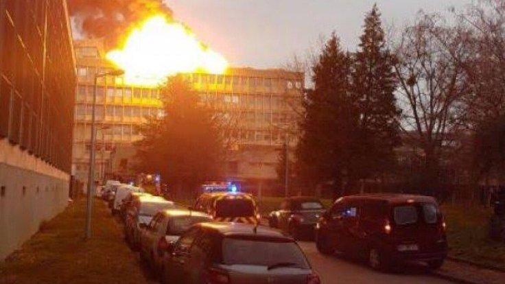 Франция: Взрыв в Лионском Университете