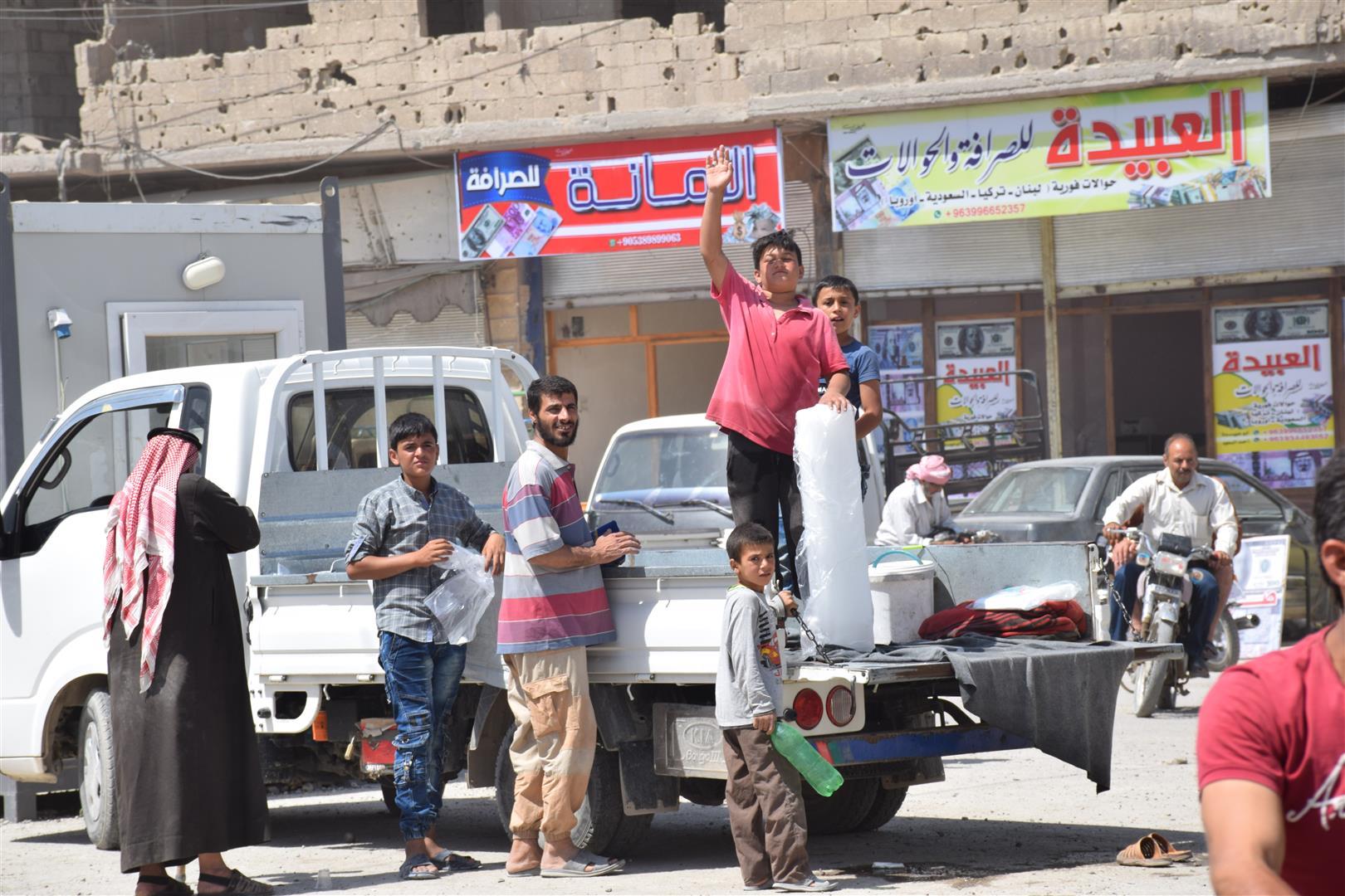 Положение в Ракке нормализовалось
