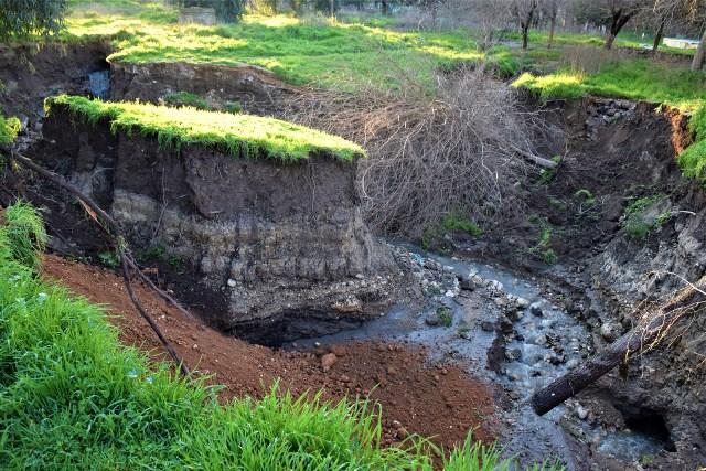 В Серикание вновь наблюдается проседание почвы…