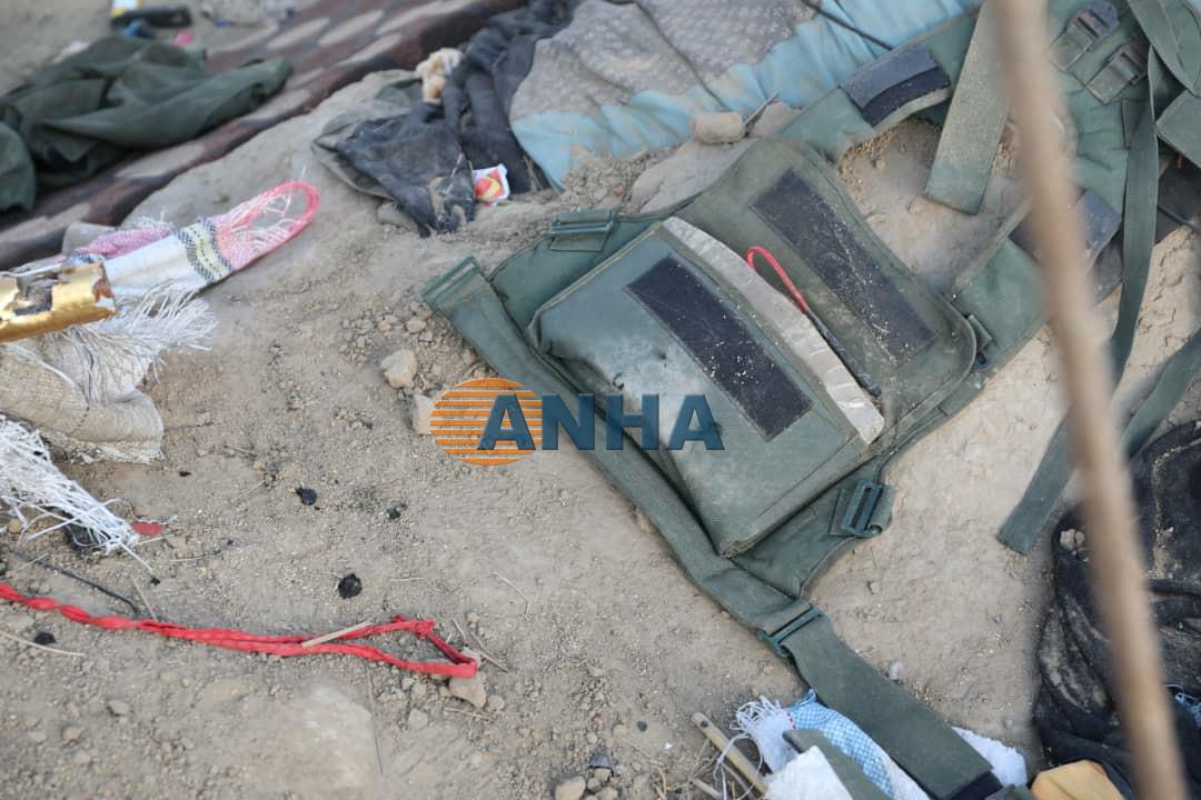 Видео- и фотоматериалы наших корреспондентов из только что взятого лагеря боевиков в Багозе