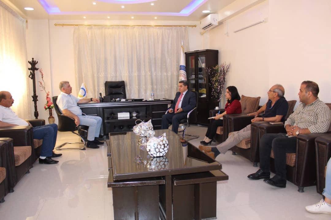 Украинский консул посетил северную и восточную Сирию